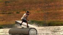 photo of josh brown at cowtown wake park