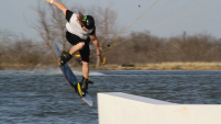 photo of josh pennell wakeboarding at Vision Quest ATX