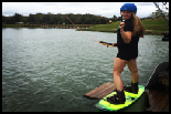 photo of Erin Heyman at McCormick's Cable Park