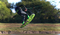photo of brady patry wakeboarding at wakezone cable park