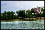 photo of Stuart Parsons wakeboarding at bsr cable park