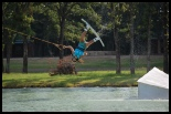 photo of Summer Downs wakeboarding at bsr cable park