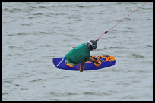 photo of wakeboarder at cowtown wakepark