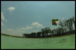 photo of Ryan Kyle Flex wakeboarding at bsr cable park