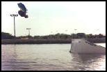 photo of Riley Bruton wakboarding at hydrous