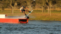 photo of Chandler Powell at McCormick's Cable Park
