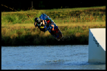 photo of Hayden Chambless wakeboarding at hydrous